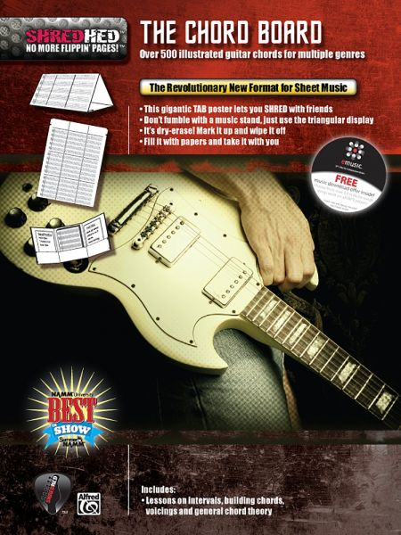 Souq | The Chord Board: Over 500 Illustrated Guitar Chords for ...