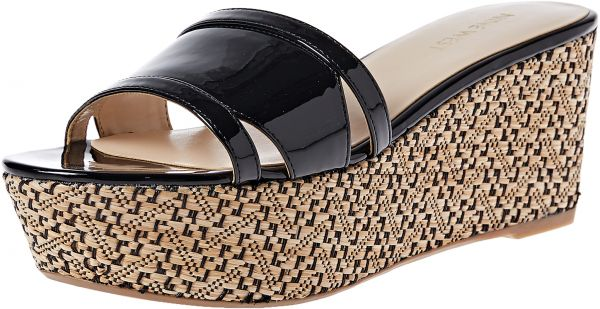 33725afb56fa NINE WEST Wedge Sandals for Women - Black price