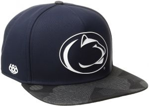 new product 43b0c 23d05 686x47 NCAA Penn State Nittany Lions Crispy Snapback Cap, One Size, Penn  State Navy