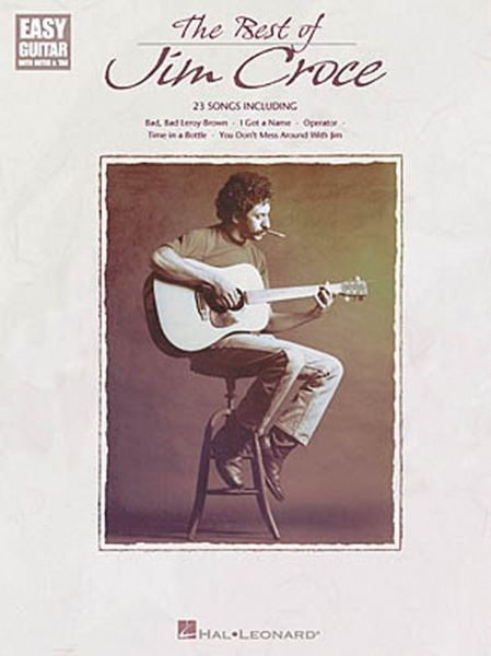 Souq The Best Of Jim Croce Easy Guitar With Notes Tab Uae