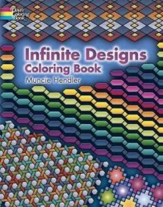 Infinite Designs Coloring Book Dover Design Books