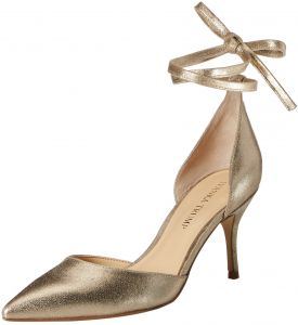Ivanka Trump Women's Bernie Pump, Gold, 8.5 Medium US