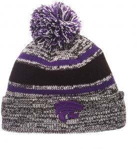 6d6487b20f1 Zephyr NCAA Kansas State Wildcats Children Boys Youth Granite Beanie