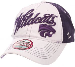 sports shoes e5aa3 ae9cf Zephyr NCAA Kansas State Wildcats Adult Women Vogue Women s Relaxed Hat,  Adjustable, White Team Color