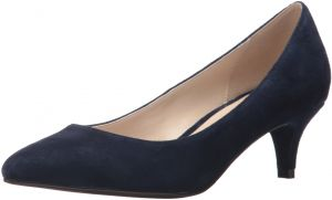 Cole Haan Women's Juliana 45 Pump, Navy Suede, 8.5 C US