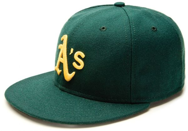 b57965e8ead MLB Oakland Athletics Authentic On Field Road 59FIFTY Cap