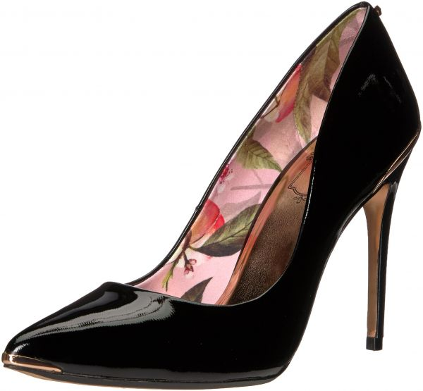 c99acfeb325 Buy Ted Baker Women's 2 Kaawa 2 Pump, Black Leather, 7 M US - Casual &  Dress Shoes | UAE | Souq