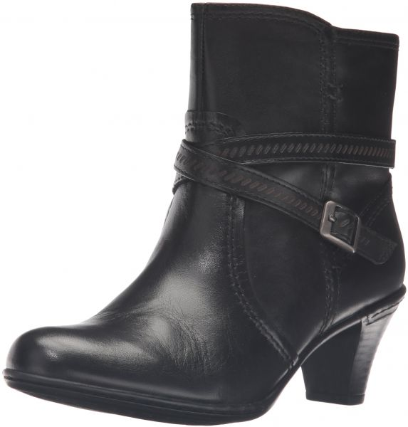 Rockport Cobb Hill Women's Missy Boot, Black, 7 N US