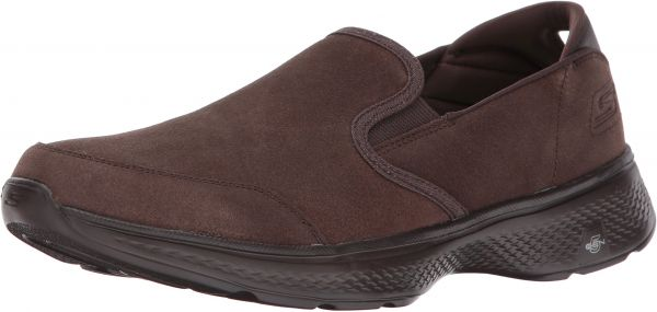 Skechers Performance Men s Go 4 54173 Walking Shoe Chocolate 12 M US