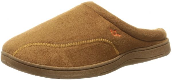Mens Christopher Roll Collar Clog Slipper, Tan, XX-Large/13 M US Dockers