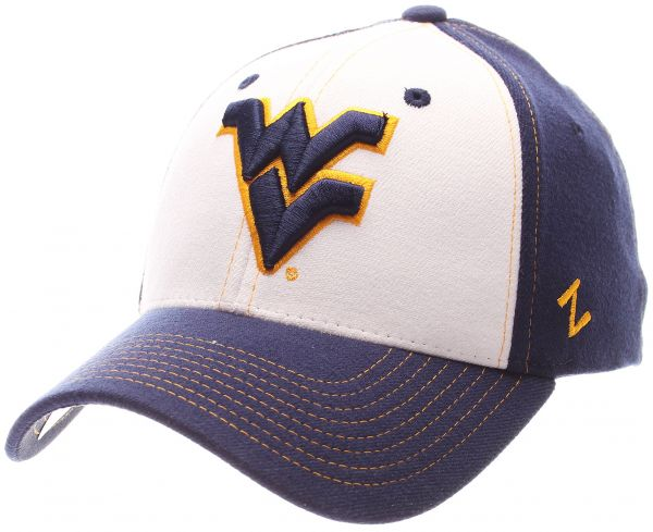 488c8e170d083 Zephyr NCAA West Virginia Mountaineers Men s Bleacher Z-Fit Hat