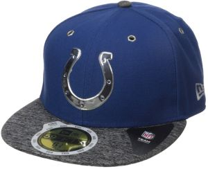 96e8b9db8e8749 New Era NFL 2016 Draft INDIANAPOLIS COLTS Youth 59FIFTY Fitted Cap-658
