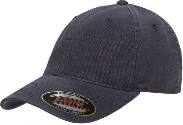 59b9ba90831 Flexfit Yupoong Men s Low-Profile Unstructured Fitted Dad Cap