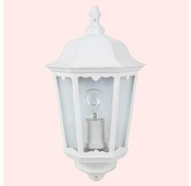 Souq eglo navedo wall luminaire outdoor light white uae 16350 aed mozeypictures Image collections