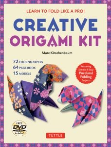 Creative Origami Kit Learn To Fold Like A Pro Instructional DVD 64 Page Book 72 Papers Original Easy For Kids Or Adults