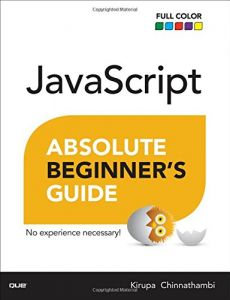 Buy Books Javascript The Absolute Beginner Alfred Alfred Music