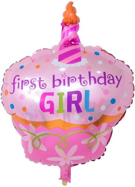 Souq BESTPICKS 48x68 cms Foil Balloon for Baby Girl First Birthday