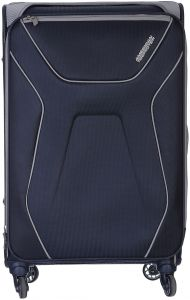 American Tourister Aa9-41-003 Luggage Trolley Bag For Unisex - Navy ... 4b39c032e