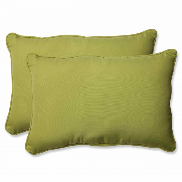 Pillow Perfect Outdoor Indoor Fresco Pear Over Sized Rectangular
