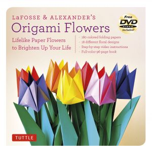 LaFosse Alexanders Origami Flowers Kit Lifelike Paper To Brighten Up Your Life With Book 180 High Quality Papers