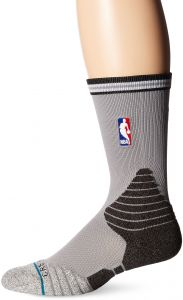 Stance Men's Spurs Logo Crew, Black, Sock Size: 10-13/Shoe Size:9-11