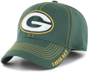 uk availability 1fec9 fe0d1 OTS NFL Green Bay Packers Adult Start Line Center Stretch Fit Hat,  Large X-Large, Dark