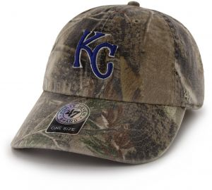47 MLB Kansas City Royals Clean Up Adjustable Hat 0298482e9865