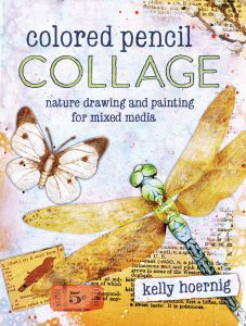 Colored Pencil Collage Nature Drawing And Painting For Mixed Media