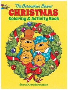 the berenstain bears christmas coloring and activity book dovor coloring books for children