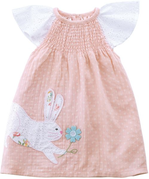Mudpie Baby Clothes New Souq Mud Pie Baby Girls Easter Bunny Flutter Sleeve Smocked Casual