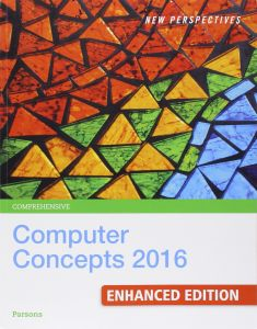 Bundle New Perspectives Computer Concepts 2016 Enhanced Comprehensive 19th LMS Integrated SAM 365 Assessments Trainings And Projects With 1