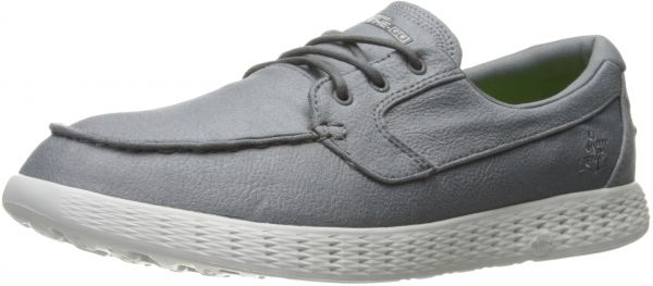 Skechers Performance Men's On-The-Go Glide-53765 Boating Shoe, Charcoal, 12 M US