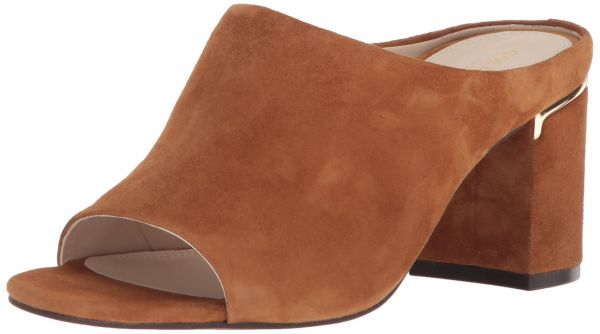 Cole Haan Women's Laree Open Toe Mule, Mink Suede, 10 B US