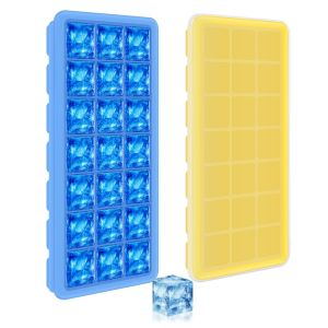Adoric 42 Ice Cubes Molds Blue TP21icetrays