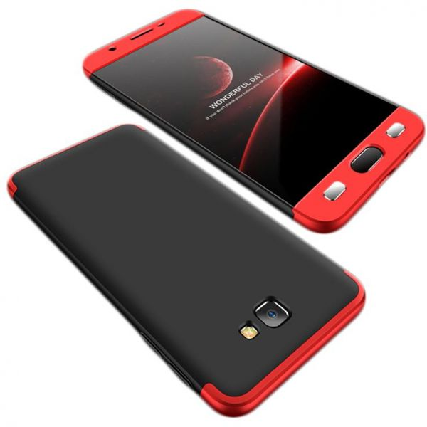 separation shoes b8ef8 0f029 Samsung Galaxy J7 Prime Case, fashion ultra Slim Gkk 360 Full Protection  Cover Case - Red & Black
