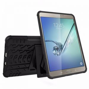 Heavy Duty Armor Tire Style Hybrid TPU PC Hard Cover Case for Samsung GALAXY Tab S2 9.7 inch T810 tablet case