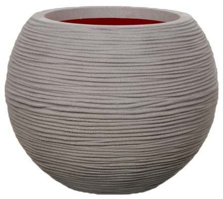 Capi Europe capi europe 102 liters ball tutch vase for plants - grey | souq - uae