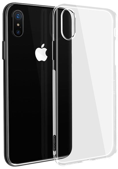 Back definder Transparent Covers For Iphone X
