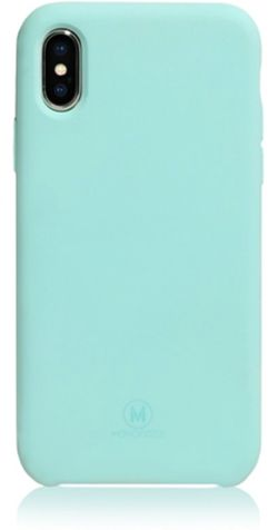 Monocozzi GRITTY, BACK COVER MOBILE CASE, FOR IPHONE X, TIFFANY BLUE