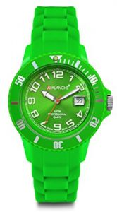 2d7ea87018300 Avalanche Alpha Collection Watch Unisex Analog Silicone