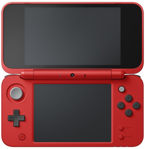 Nintendo 2DS XL Pokeball Edition Handheld Console - Red