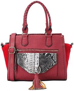 Silvio Torre Tote Bag For Women - Red bb3711db30276