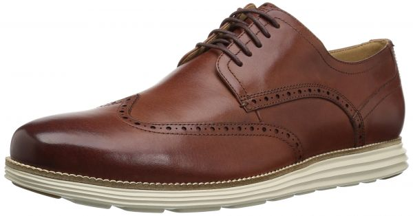Cole Haan Men's Original Grand Shortwing Woodbury Leather/Ivory Shoe