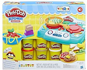 Play Doh Kitchen Creations Stovetop Super Set With Sizzlin Sounds Exclusive Playset