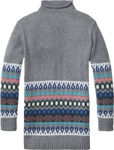 1b5644871f9 Tommy Hilfiger Fair Isle Sweater Dress for Girls - 12 to 18 Months