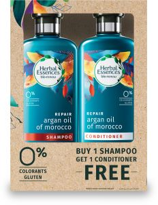 Herbal Essences Bio:Renew Argan Oil of Morocco Shampoo + Conditioner 4...