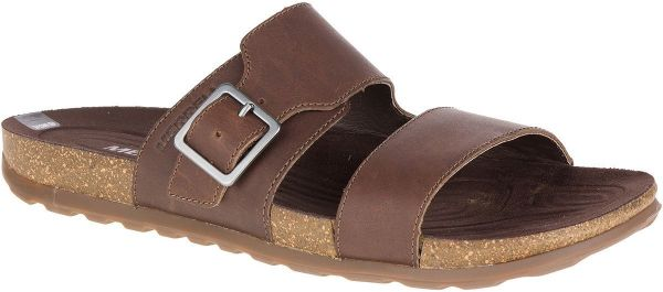 b8d1c088214f2 Merrell Brown Slides Slipper For Men