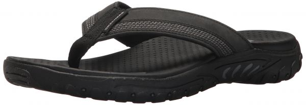 2aff456a495b Skechers Men s Relaxed Fit-Reggae-Cobano Flip-Flop