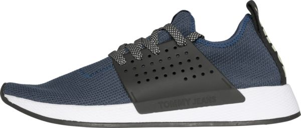 81624855a2e2 Tommy Hilfiger Jeans Knit Fashion Sneakers for Men - Blue
