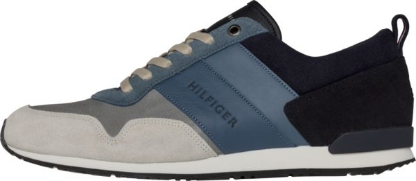 Mens Iconic Color Mix Runner Low-Top Sneakers Tommy Hilfiger Amazon Online Shopping Online Cheap Price HNos8tY